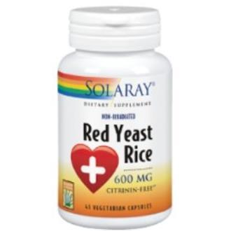 RED YEAST RICE (levadura roja de arroz) 45cap.