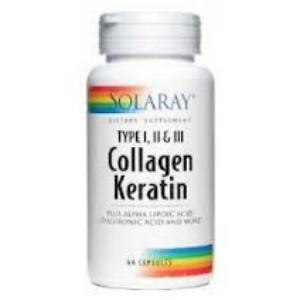 COLLAGEN KERATIN 60comp. (SOLARAY)
