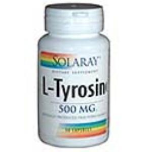 L-TIROSINA 500mg. 50cap. (SOLARAY)