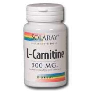 L-CARNITINE 500mg. 30cap.